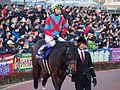 Awardee and Yutaka Take in Tokyo Daishoten at Oi racecourse (31180057923).jpg