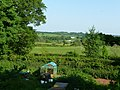 Ayshford , Chicken Coup and Countryside - geograph.org.uk - 1330972.jpg