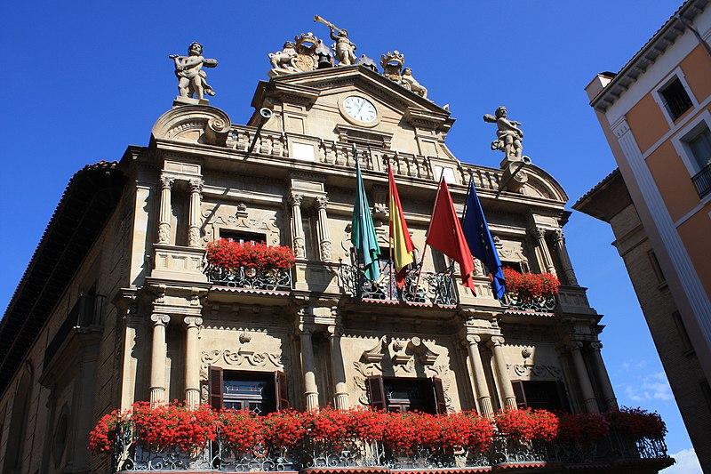 ファイル:Ayuntamientode Pamplona、パンプローナ(ES)-panoramio.jpg