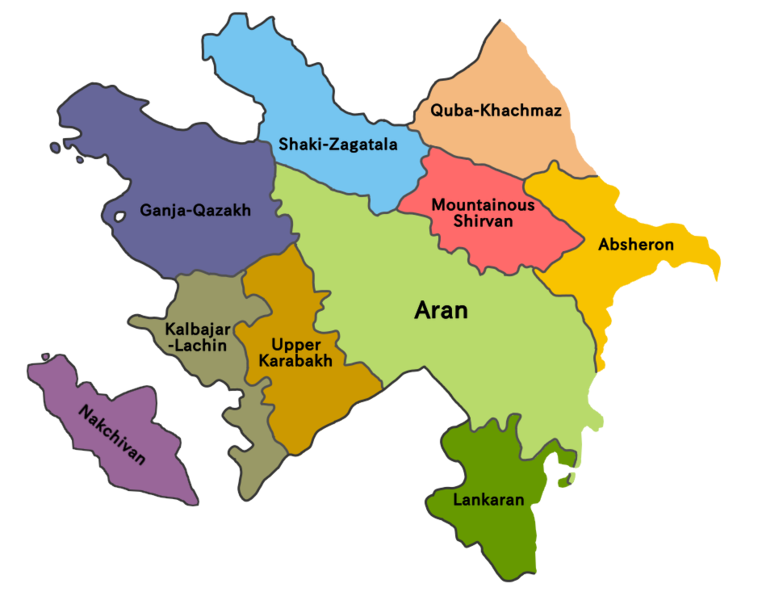 Azerbaijan economic regions