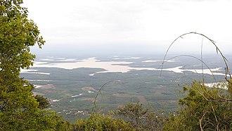 Bình Phước Province - View from Bà Rá mountain