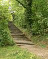 Bückeberg Treppen von der Weser zum Festgelände.jpg
