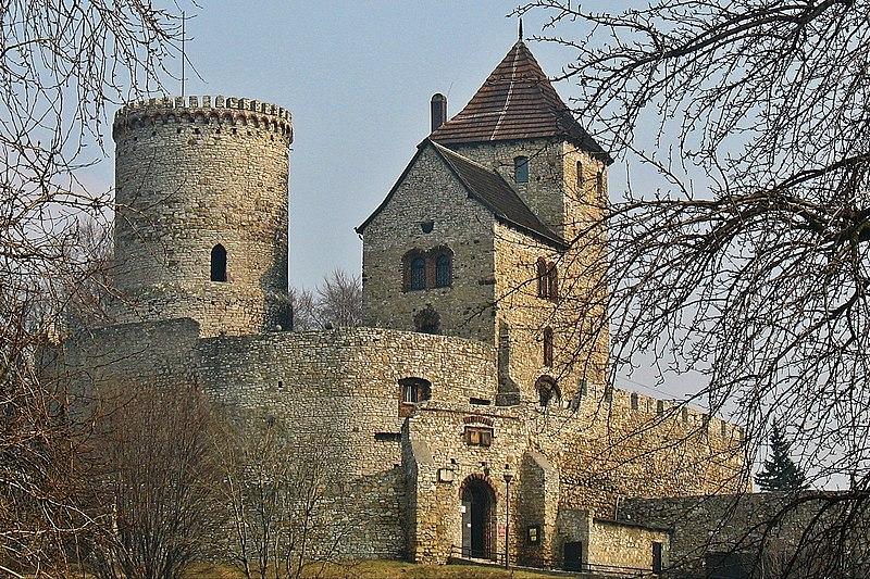 Miejsce trzecie: Królewski Zamek Będziński z XIV w. (Będzin, województwo śląskie).