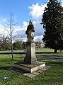 Březiněves, park, socha sv. Jana Nepomuckého (01).jpg