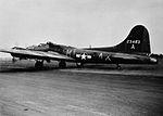 B-17 42-3483 taking off from Alconbury Airfield.jpg
