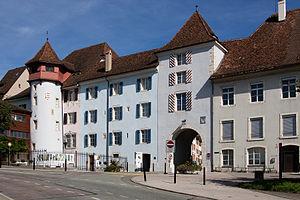 Delémont - Image: B Delemont Porte de Porrentruy