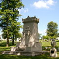 B. F. Jones Monument, Allegheny Cemetery, Pittsburgh, 1.jpg
