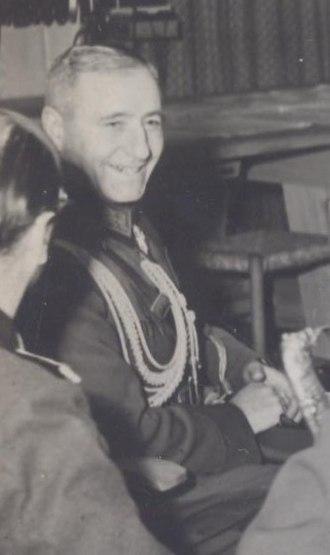 Nikola Mikhov - Image: BASA 3K 15 391 1 Nikola Mikhov, 1943 (crop)