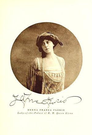 Franca Florio - Donna Franca in 1911.