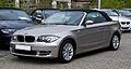 BMW 118i Cabriolet (E88) – Frontansicht, 15. April 2012, Mettmann.jpg