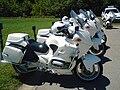 BMW Motorcycles of Serbian Police.JPG