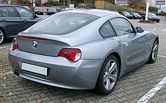BMW serii Z. Model Z4 Coupé (E86)