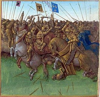 Loire - The Vikings invading in 879