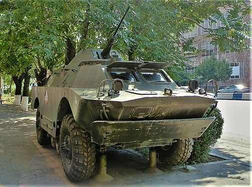 BRDM-2 near DOSAAF building in Yerevan (1).jpg