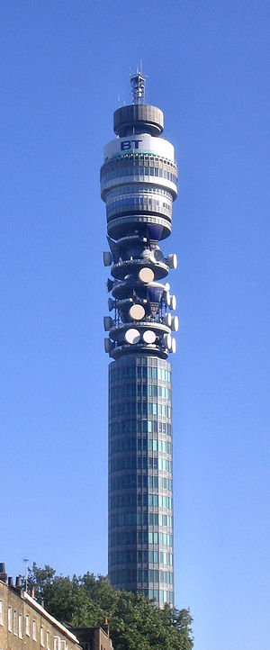 Hyperdrive (TV series) -  The shape of the HMS Camden Lock is based on the BT Tower