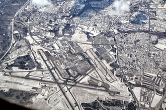 Aviation in Maryland - Image: BWI aerial 2