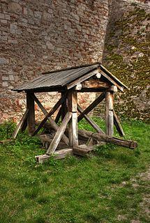 siege engine originating in ancient times