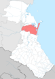 Babayurtovsky district locator map.png