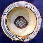 Bacino ceramico da facciata del duomo di s. miniato, nord-africa, 1190 ca. 20.JPG