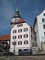 Backnang Helferhaus mit Stadtturm 2017 (MTheiler) 4768.JPG