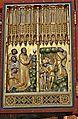 Bad Doberan, Münster, Kreuzaltarretabel, Christusseite mit Predella, um 1368, Li. Flügel 1. S.JPG