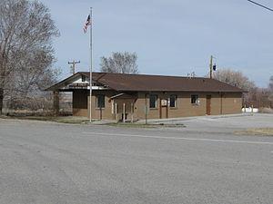 Baker, Nevada - Post Office in Baker, Nevada