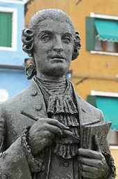 Galuppi-Denkmal in Burano (Quelle: Wikimedia)