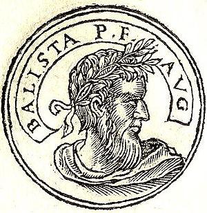 """Balista - Balista from """"Promptuarii Iconum Insigniorum"""""""