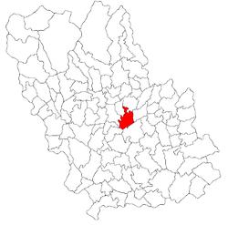Vị trí của Bălțești