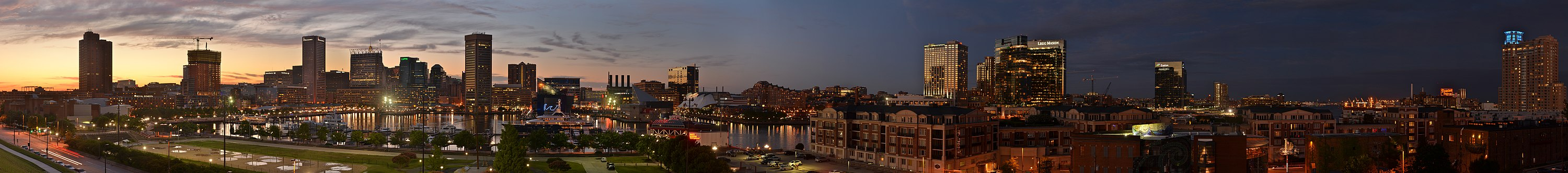 Panorama of the Inner Harbor