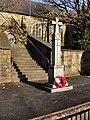 Bamford War Memorial and St Michael's Church. - geograph.org.uk - 2171200.jpg