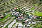 A village in the Batad rice terraces