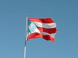 La Borinqueña - Image: Bandera PR