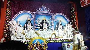 Purandarpur - Durga Maa