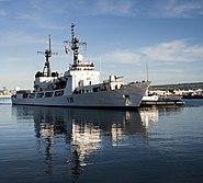 Bangladesh navy frigate Somudro Joy (F-28) at Pearl Harbor in 2013