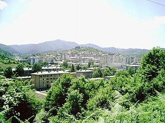 """Banovići - View from """"Vidikovac"""""""