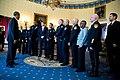 Barack Obama and Medal of Valor recipients in 2016.jpg