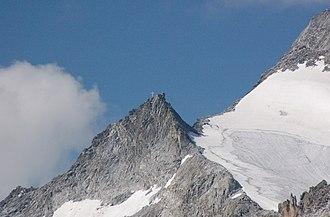 Barmer Spitze - Image: Barmer Spitze Vom Fenneregg
