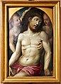 Bartolomeo neroni, teste di bara dalla compagnia di s. ansano, 1569 (siena, diocesano), pietà e angeli.jpg