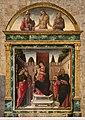 Bartolomeo vivarini, madonna e santi, con lunetta del cristo in pietà tra due santi, 1476, 02.jpg