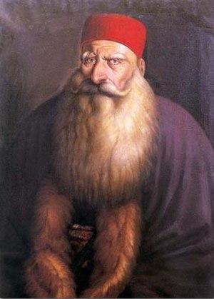 Abdullah Pasha ibn Ali - Portrait of Emir Bashir Shihab II. Abdullah Pasha entered into a long-time alliance with Emir Bashir.