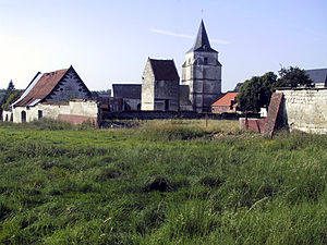 Basseux - A general view of Basseux