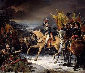 Die Schlacht von Hohenlinden, 1800.