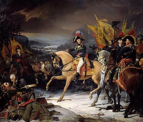Fin de la bataille de Hohenlinden