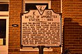 Battle of Appomattox Station 1865 historical marker.jpg