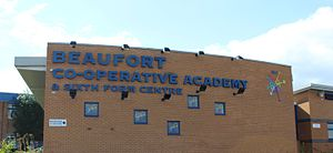 Beaufort Co-operative Academy - Image: Beaufort Co operative Academy
