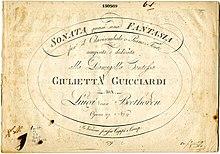 3050acca7f0 Beethoven Piano Sonata 14 - title page 1802.jpg