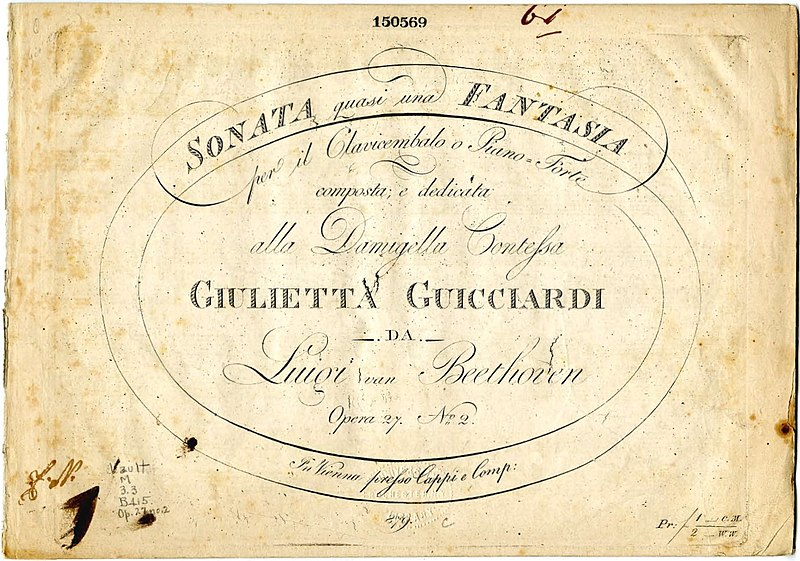 Moolight Sonata, Classical Guitar Version