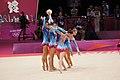 Belarus Rhythmic gymnastics team 2012 Summer Olympics 04.jpg