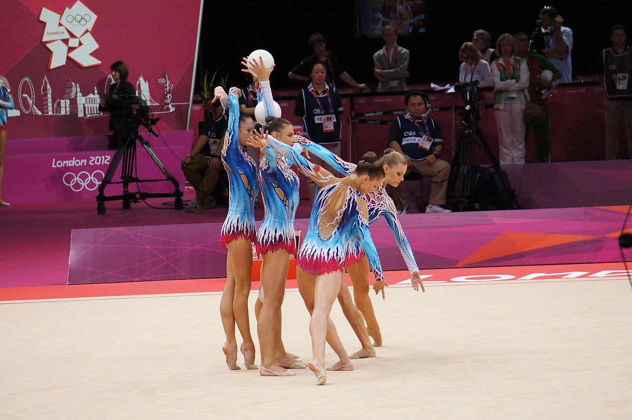 2000 Summer Olympics Rhythmic Gymnastics   Tom Theobald